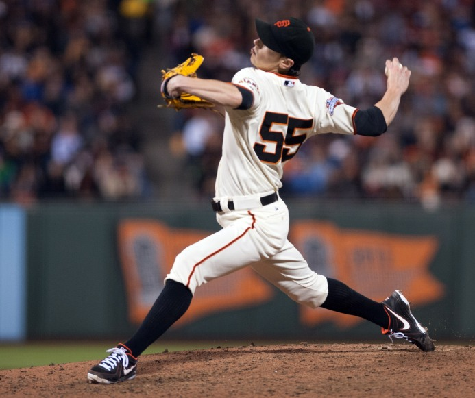 MLB: Los Angeles Dodgers at San Francisco Giants